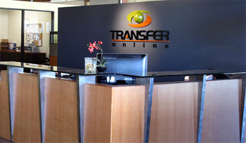 Transfer Online Reception